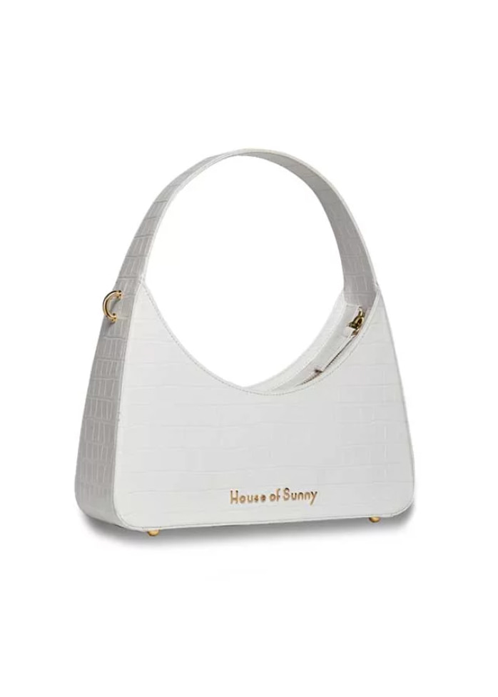 ICON SHOULDER BAG WHITE
