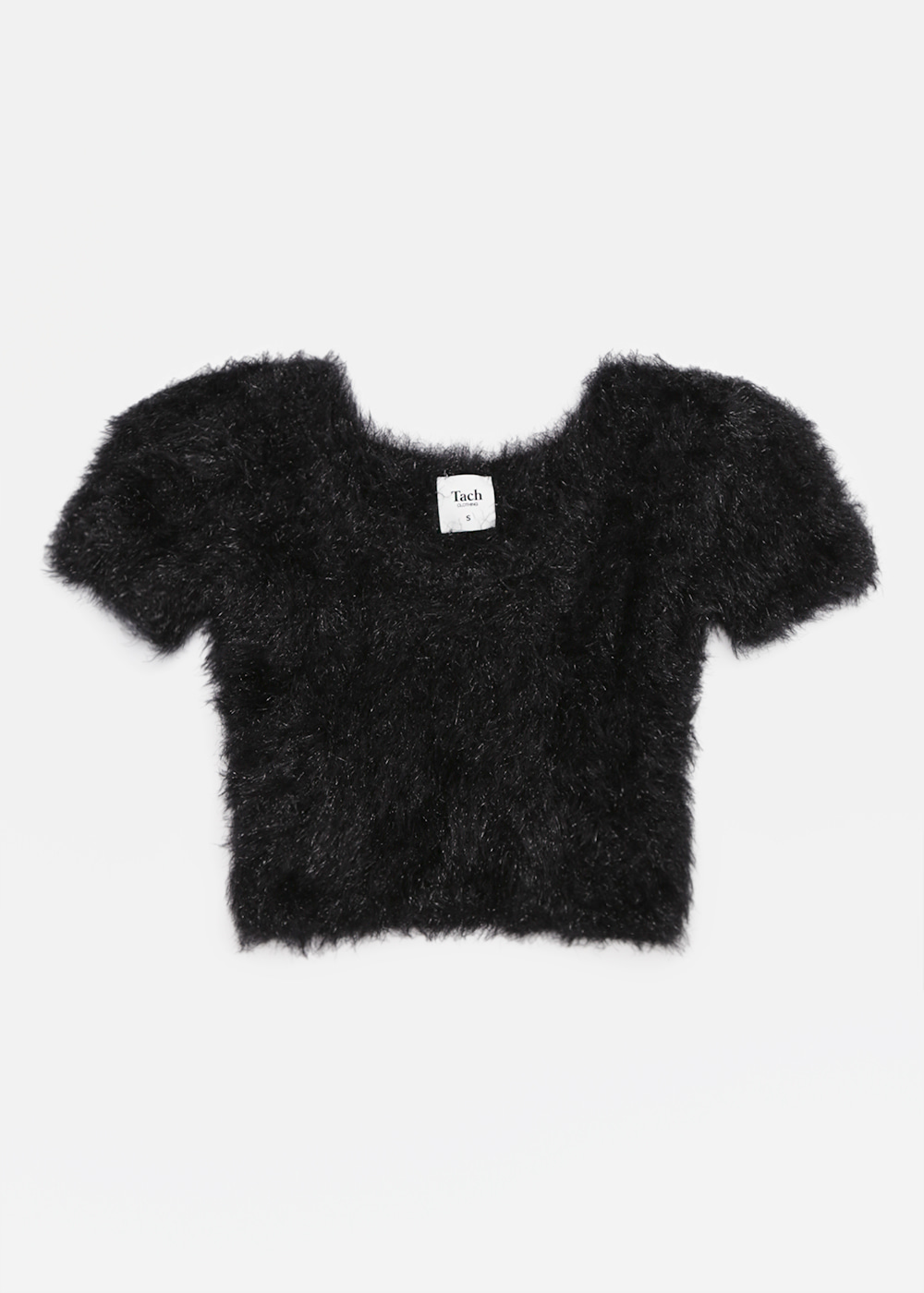 VIVIEN KNIT TOP BLACK