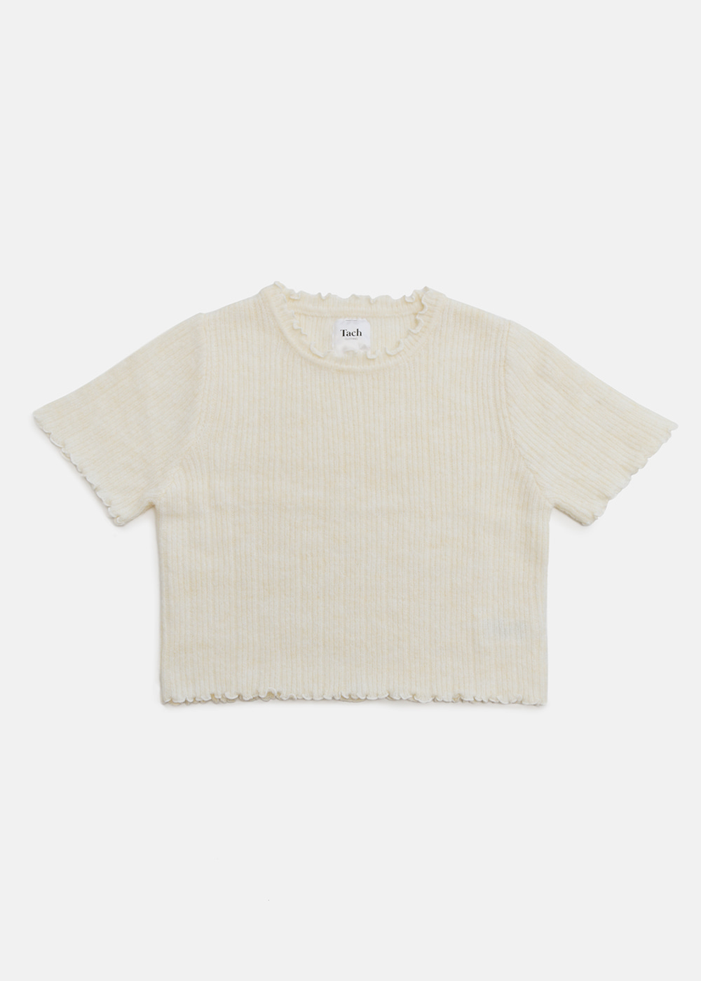 PEGASUS KNIT TOP IVORY