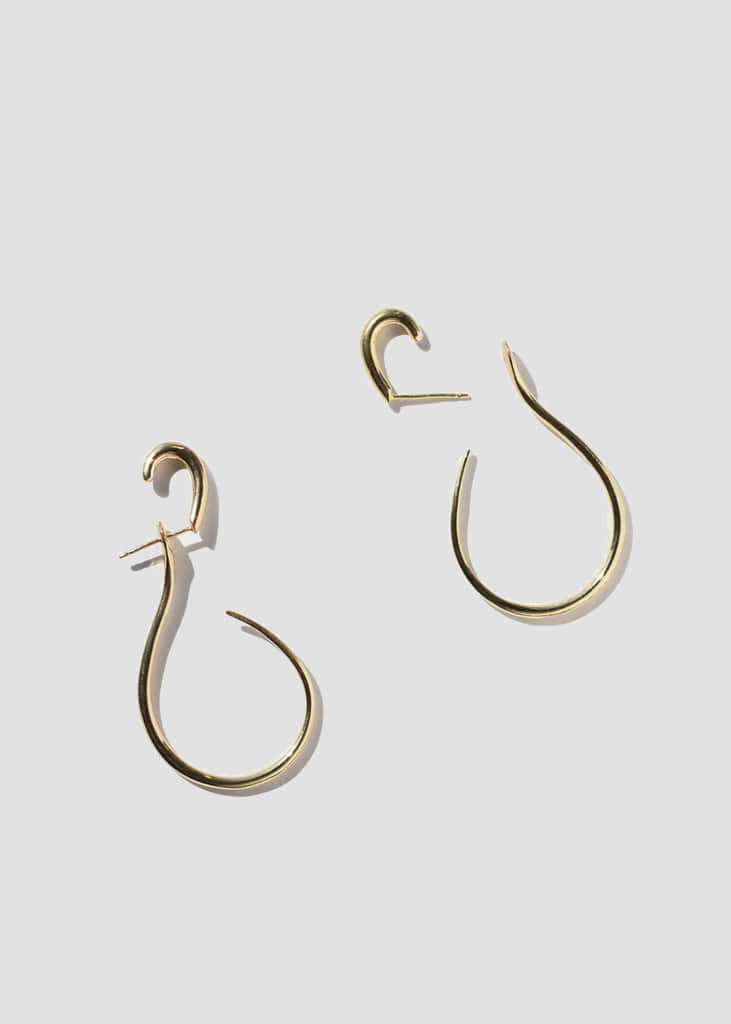 GAL EARRINGS - GOLD VERMEIL